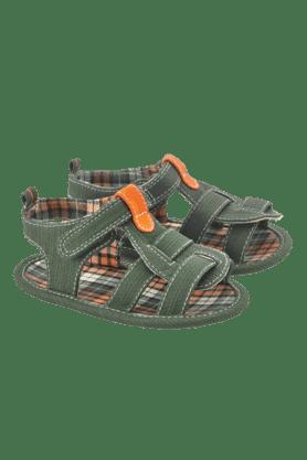 MOTHERCAREBoys Khaki Check Pattern Sandal