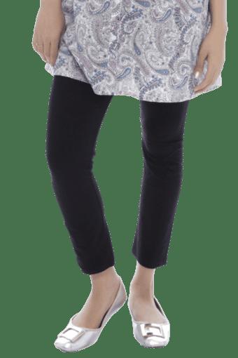 32a61446bfc70 Buy NINE MATERNITY Wear Ankle Length Leggings In Black | Shoppers Stop