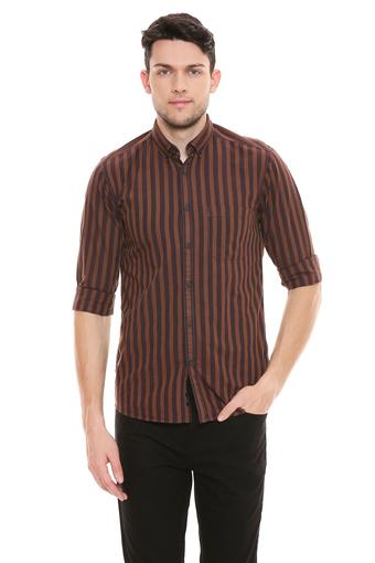 VETTORIO FRATINI -  Brown Shirts - Main