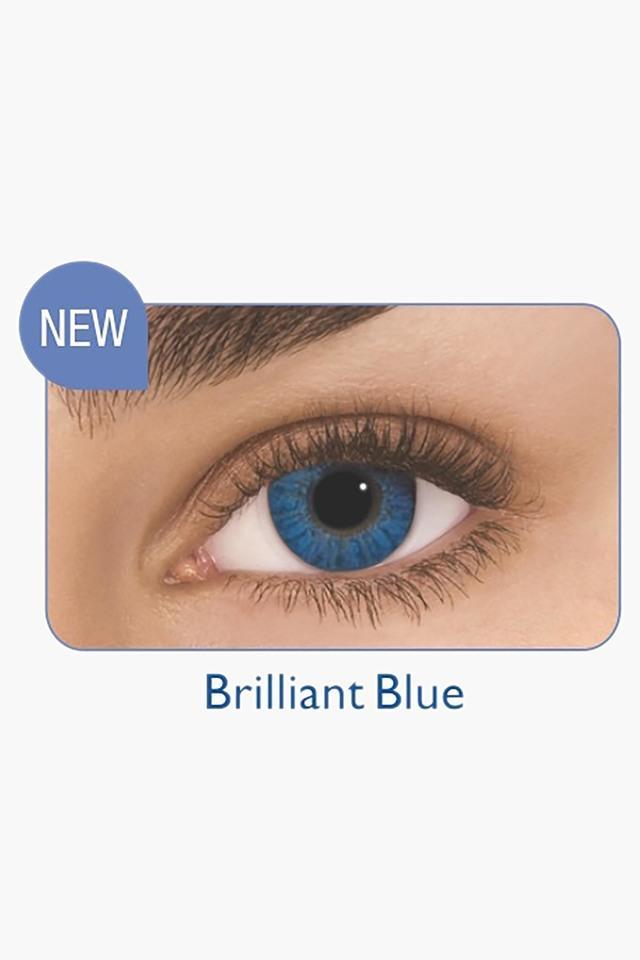 Freshlook Uv Color Blends 2Pack 0 Power Brilliant Blue