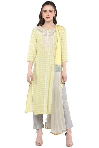 KASHISH -  YellowSalwar & Churidar Suits - Main