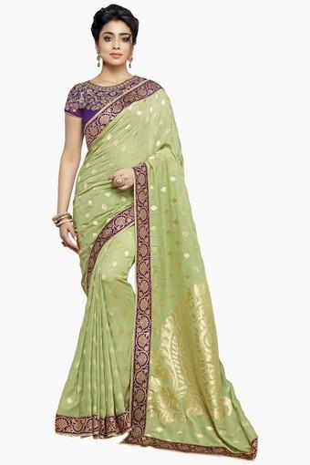 Womens Banarasi Modal Silk Designer Saree