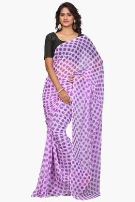 DEMARCAWomen Chiffon Designer Saree