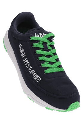LEE COOPER Mens Navy Lace Up Sports Shoe