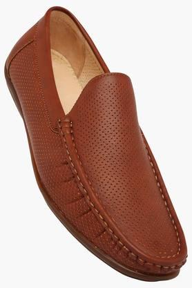 TRESMODE Mens Leather Slip On Formal Loafers  ...
