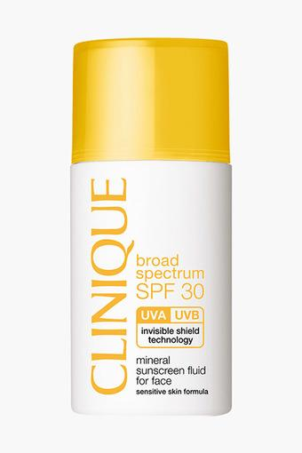Spf 30 Mineral Sunscreen Fluid For Face 30 ml
