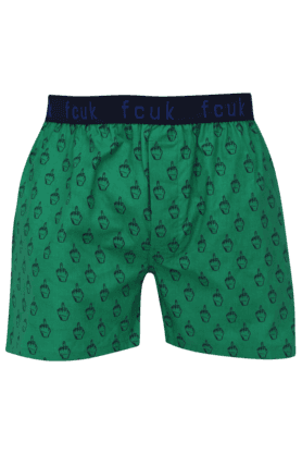 FCUK Mens Stretch Printed Boxers - 200198710