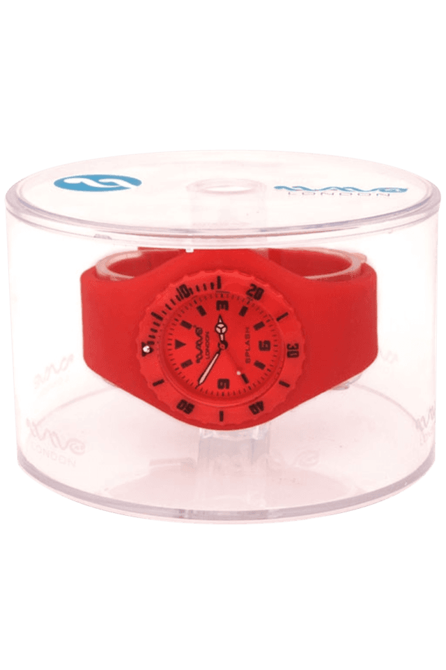 Splash Neon Red Ladies Watch