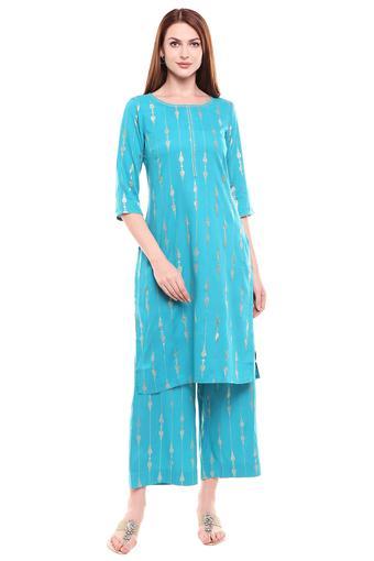 AURELIA -  BlueSalwar & Churidar Suits - Main