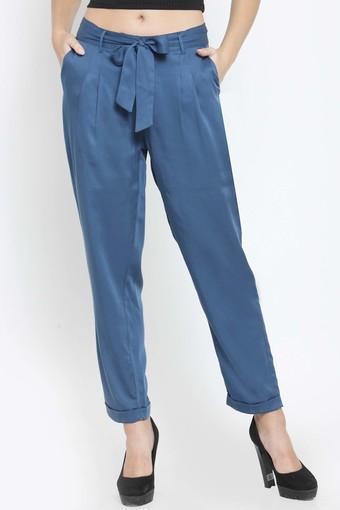 LATIN QUARTERS -  TealTrousers & Pants - Main