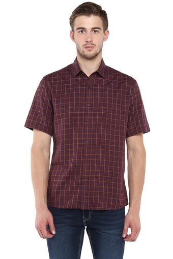 ARROW SPORT -  Burgundy Shirts - Main