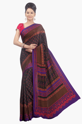 JASHN Womens Printed Saree - 201502441