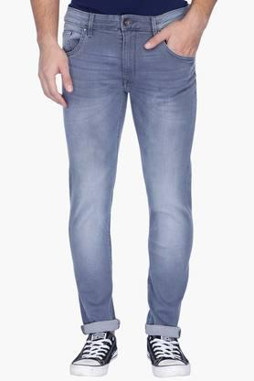 UNITED COLORS OF BENETTON Mens Skinny Fit Mild Wash Jeans