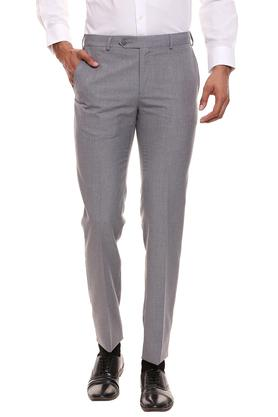 RAYMOND - Grey Formal Trousers - Main