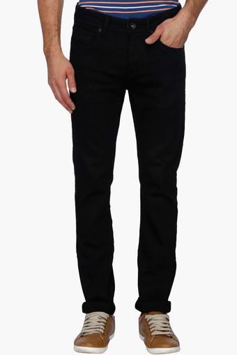 c31470a23e9192 Buy FLYING MACHINE Mens Slim Fit Coated Jeans (Michael Fit)   Shoppers Stop
