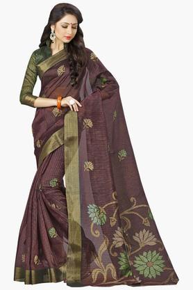 DEMARCAWomens Silk Designer Saree - 202338133