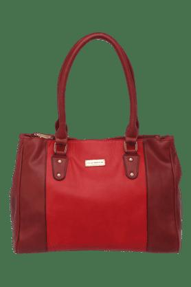 ELLIZA DONATEINWomens Leather Zipper Closure Hobo Handbag