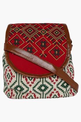 PICK POCKETWomens Zipper Closure Sling Bag - 202332834