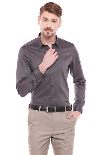 VETTORIO FRATINI -  Grey Formal Shirts - Main