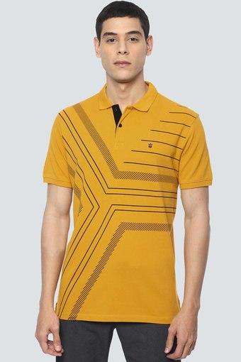 LOUIS PHILIPPE JEANS -  YellowT-Shirts & Polos - Main