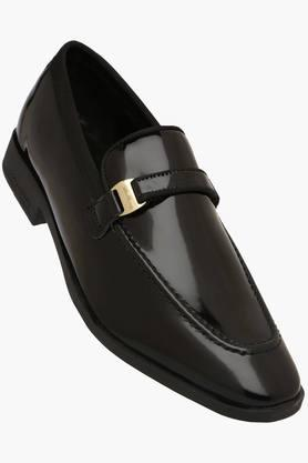 BLACKBERRYS Mens Patent Leather Slip Formal Loafers  ...