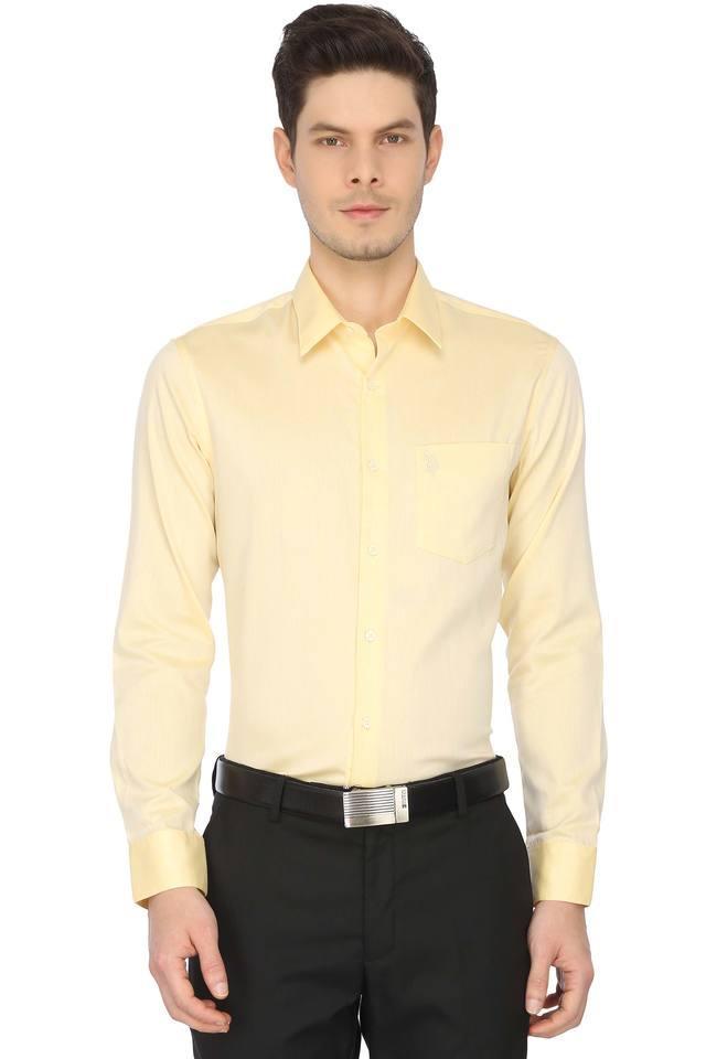 Mens Solid Formal Shirt
