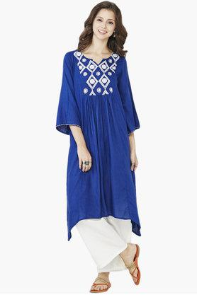 GLOBAL DESI Women's Embroidered Tunic