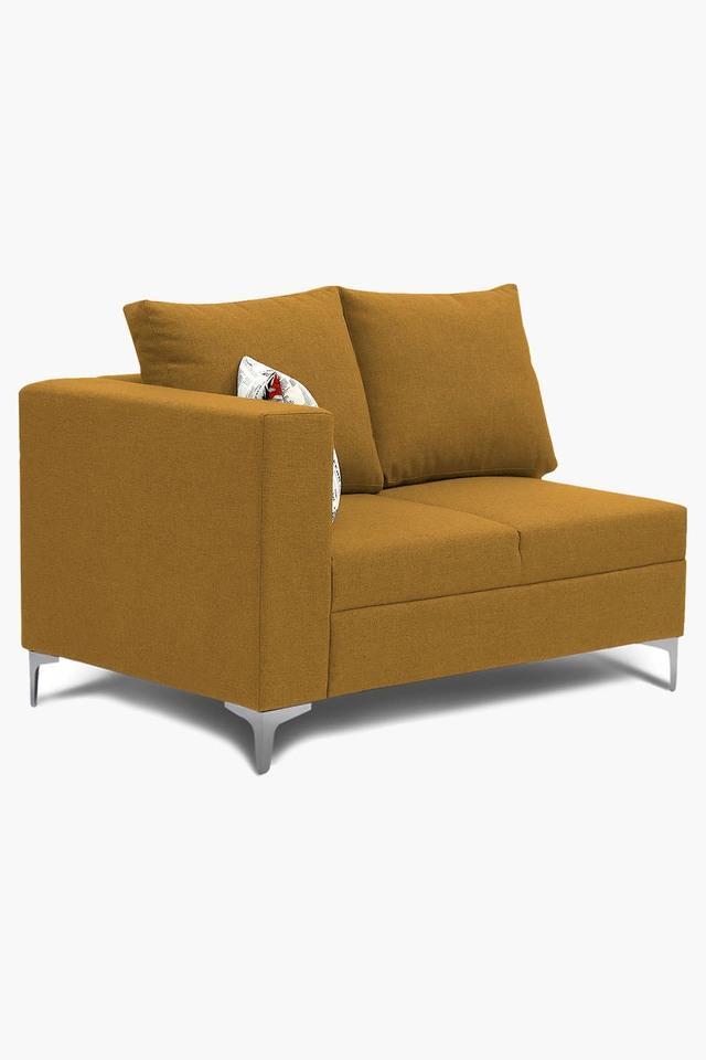 Metallic Gold Water Repellent Fabric Sofa (2 - Seater)