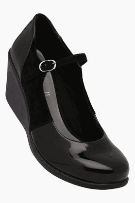 CATWALKWomens Party Wear Ankle Buckle Closure Pump Shoe