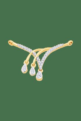 GILIWomens 18KT Gold & Diamond Mangalsutra