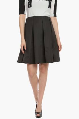 SOIEWomens Pleated Skirt