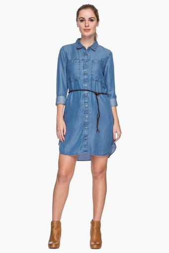 2bead8ee Womens Collared Assorted Shirt Dress