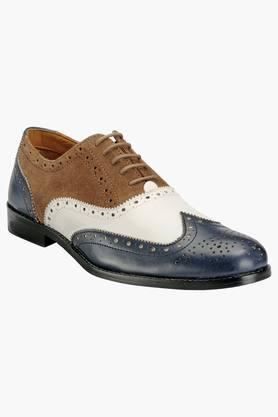 Hats Off Accessories Formal Shirts (Men's) - Mens Leather Lace Up Smart Formal Shoes