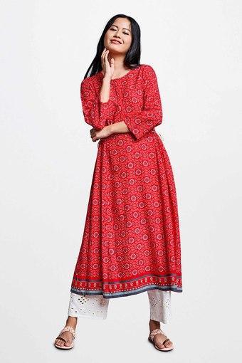 GLOBAL DESI -  RedIndianwear Dresses - Main