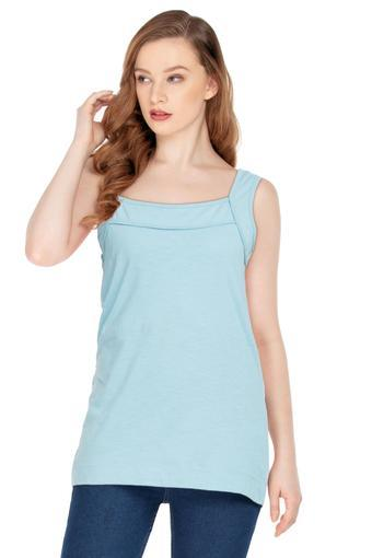 A086 -  Dusty BlueT-Shirts - Main