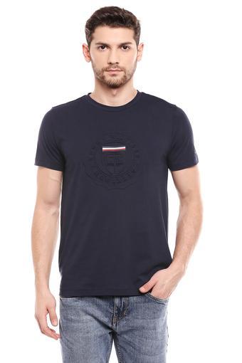 TOMMY HILFIGER -  BlueT-shirts - Main