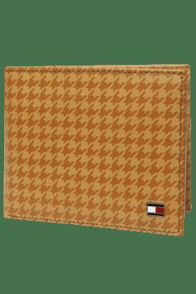 TOMMY HILFIGERMens Graham Leather 1 Fold Wallet