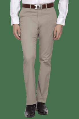 ALLEN SOLLYMens Slim Fit Solid Chinos - 200582269