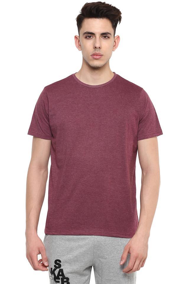 STOP - Blue MelangeT-Shirts & Polos - Main
