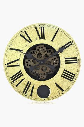 Wooden Gear Wall Clock - 202201621