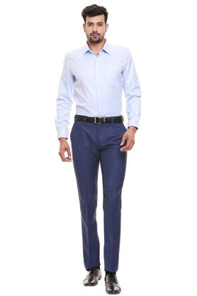 RAYMOND - Light BlueFormal Shirts - 3