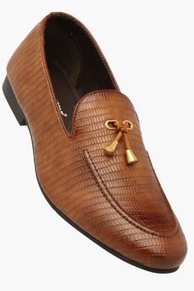 FRANCO LEONEMens Leather Slipon Smart Formal Shoe - 201515609