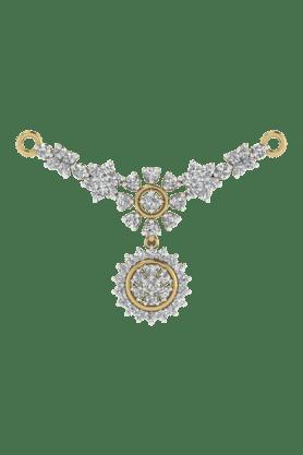 TARA JEWELLERSWomens 18 Karat Gold And Diamond Mangalsutra Pendant