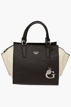 GUESSWomens Manning Zipper Closure Tote Handbag - 201421760
