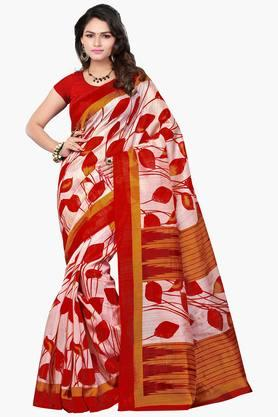 Women Bhagalpuri Art Silk Floral Printed Saree - 202447290