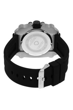 Mens Sporty Black Dial Silicone Analogue Watch - FA9-SS272