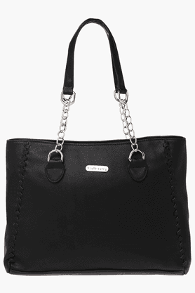 HAUTE CURRY Womens Zipper Closure Tote Handbag - 201156851