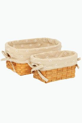 BACK TO EARTH Storage Basket - Set Of 2