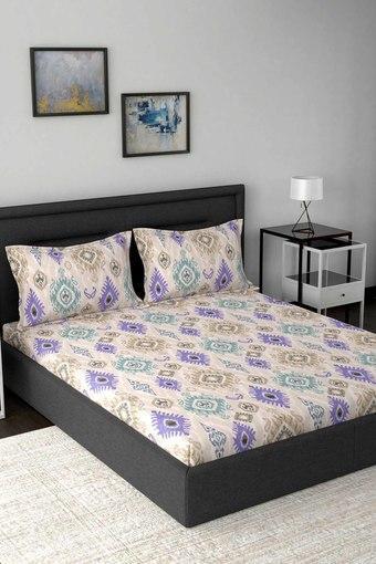 MASPAR -  BlueDouble Bed Sheets - Main