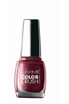 LAKME True Wear Color Crush Nail Color 9 Ml - 7232135